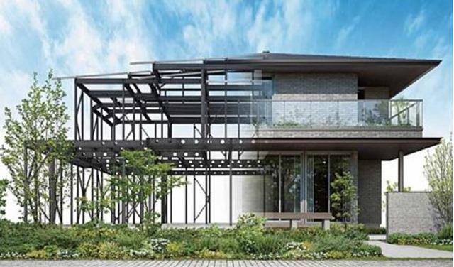 P5 1 パナソニックの『防災持続力を備える家』イメージ - パナソニックホームズ、 『令和』の時代に 新しい防災住宅の価値を提唱