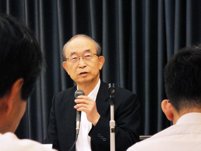 P2 1a 青山 佾氏 - 「令和防災研究所」発進!