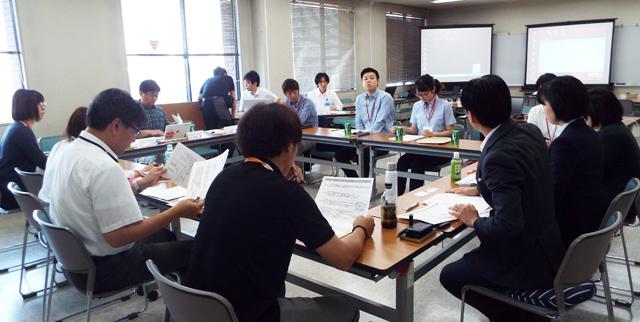 大阪府社協の「eコミ」研修会で。オリエンテーション