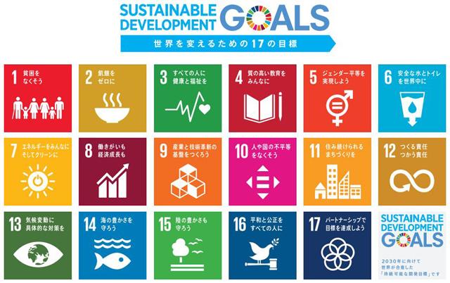 P1 SDGsのロゴ 「世界を変えるための17の目標」 - 自由研究としての「SDGs」 防災の志とも共振・共鳴