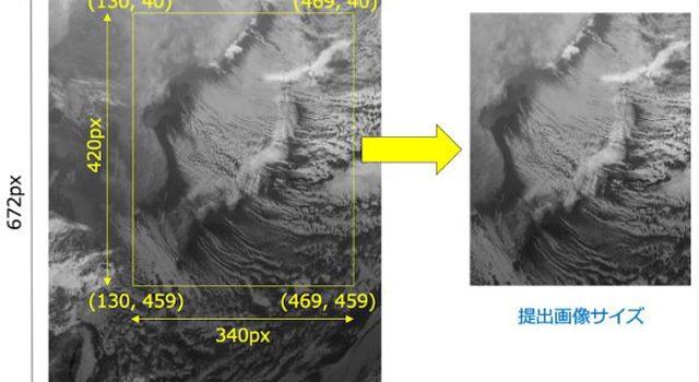 AI気象予測コンペ「Weather-Challenge:雲画像予測」より