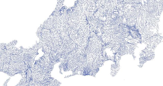 「川だけ地図(All-Rivers)」より(一部トリミング)