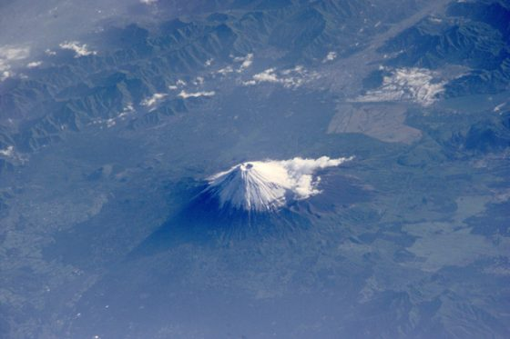 富士山(Photo Courtesy: wikimedia)