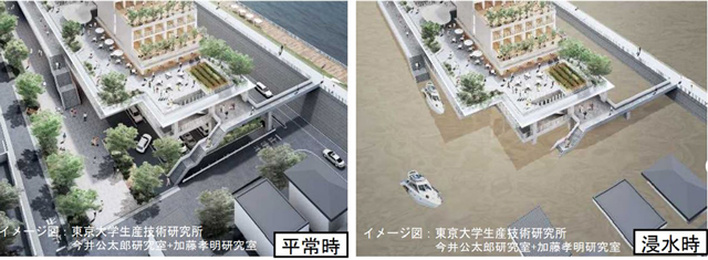 P1 東京都葛飾区の「浸水対応型市街地構想」より 1 - 本気で災害からいのちを守る
