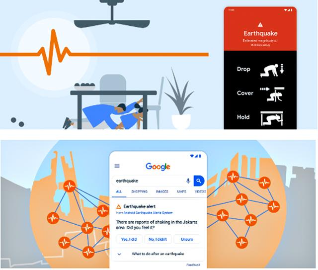P5 1 グーグルHPより - グーグル、<br>スマホで緊急地震速報 構築へ