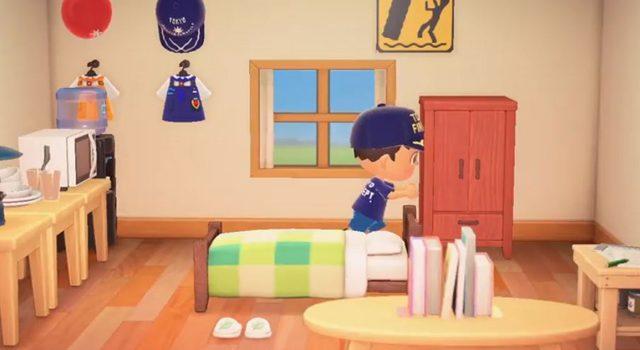 東京消防庁「ボウサイの森」より「お部屋のレイアウトを見直そう」