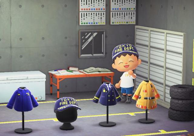 P6 2 東京消防庁「#マイデザインの公開 第1弾」より - 東京消防庁、<br>『あつまれ どうぶつの森』で<br>防災広報キャンペーン